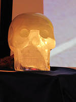 Einstein, the ancient crystal skull